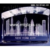 Buy cheap City building-Art modeling 3D Laser Crystal product