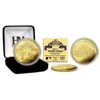 Buy cheap 2011 World Series Dueling Logo 24KT Gold Coin product
