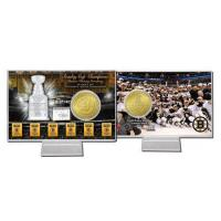 Buy cheap Boston Bruins Six Time Stanley Cup Champions Bronze Coin Card product