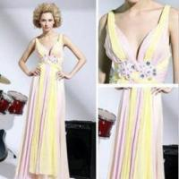 Buy cheap The new elegant long evening dress gown section variegated product