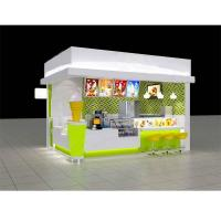 Commercial 3d design mobile food kiosk ice cream
