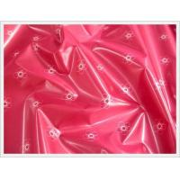 Buy cheap PVC calendered transparent film fabric (garment, luggage) product