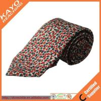 Buy cheap beautiful design fashion style custom print silk tie product