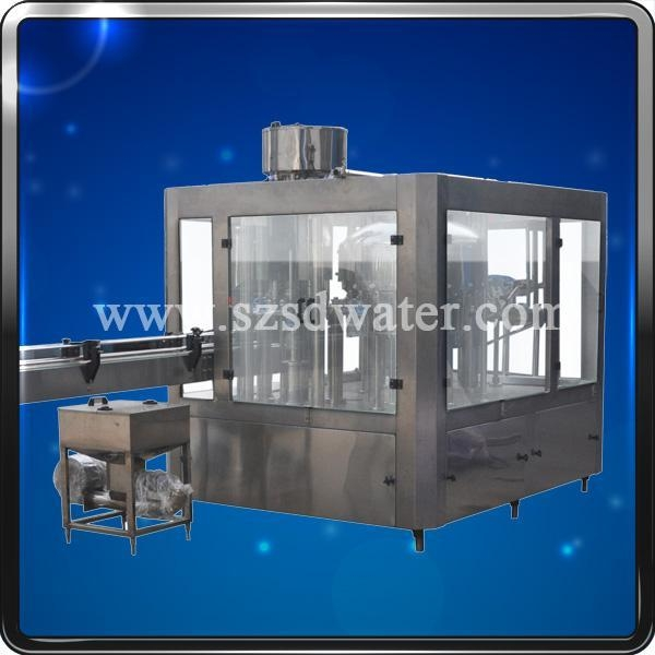 Quality Good Taste Sparkling Water Package Line for Beverage Plant for sale