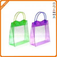 Buy cheap Small PVC Tote Toiletry Bag with Handle product
