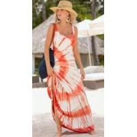 Buy cheap New Women Sleeveless Printed Beach Holiday Dress from wholesalers