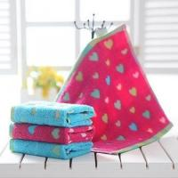 colorful jacquard baby face towel Manufactures