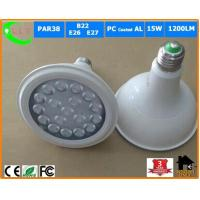 PC Coated AL PAR38 15W LED Spotlight