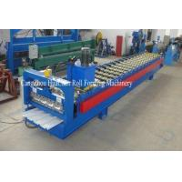 Buy cheap Trapezoid Cold Roll Forming Machine With Manual / Hydraulic Uncoiler product