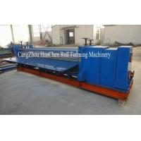 Buy cheap 0 - 4m Width Thin Board Cold Roll Forming Machine for Corrugated Panel product