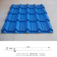 Buy cheap Color Steel Antique Glazed Roof Tile YX30-194-970 product