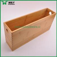 Buy cheap MY2-6031 Bamboo Storage Organizer with Handle product