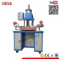 Buy cheap plate pneumatic hot foil stamping machine plate pneumatic hot foil stamping machine product