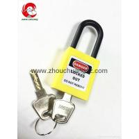 Buy cheap ZC-G11 Yellow security lock and safe, safety padlocks lockout tagout product