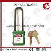 Buy cheap ZC-GL11 Non-Conductive Nylon Long Shackle, ABS Padlock Body,Xenoy Safety Padlock product