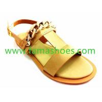 FM031casual buckle strap casual lady sandal 2015