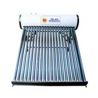 Galvernized steel solar water heater