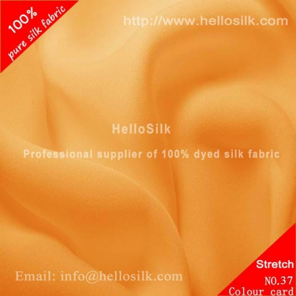 Quality SILK STRETCH DOUBLE GEORGETTE FABRIC 19MM, 42 for sale