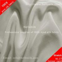 Buy cheap SILK STRETCH CREPE DE CHINE FABRIC 16MM, 42 product