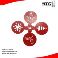 Buy cheap Cartoon S/S coffee stencil,Christmas pattern product