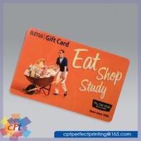 Full color printing Plastic gift card