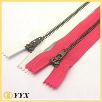 Buy cheap Dress metal zipper long chain metal zipper|Metal zipper product
