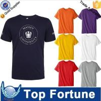 Buy cheap Hot Sales economic unisex plain t shirts for printing product