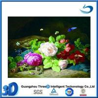 Buy cheap Flower 3d advertising poster in types of flowers pictures with a frame product