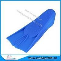 Buy cheap hot sell silicone swimming flipper shoes for training product