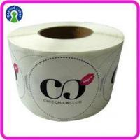 Buy cheap Label of Graded Good transparent White pvc sticker Club Logo Name bopp custom stickers labels product