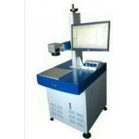 Buy cheap Plastic / Rubber / Polyethylene Marking 20W Fiber Laser Marking Machine for Vehicle / Hardware Parts product