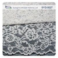 Buy cheap Silver Fashion Swiss Corded Jacquard Lace Fabric Brides Dresses product