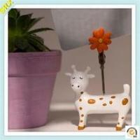Lovely deer memo clip holder OEM animal memo pad holder plastic clip
