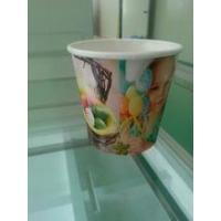 Buy cheap paper flower pot Take Away Disposable Flower Planting Paper Cups product