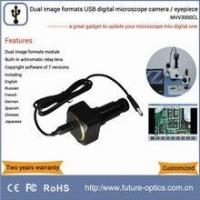 Buy cheap MVV3000CL digital microscope eyepiece camera equipped with high resolving power relay lens product