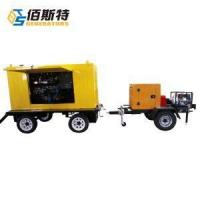 Buy cheap Gasoline Pump for Sludge Water with Trailer product