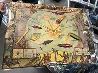 Buck Rogers 1933 Vintage Map Of The Solar System And Seasons And The Earth's Orbit