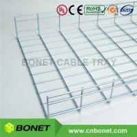 China 500x100mm Electro Zinc Plated Wire Grid Cable Tray on sale