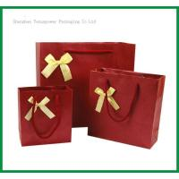 Buy cheap TSP837 Bow Tie Paper Shopping Bag product