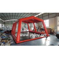 China Inflatable Dome Tent Portable Inflatable Car Wash Pad Tent on sale