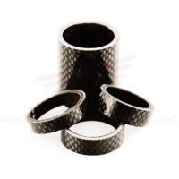 Buy cheap Wheels Manufacturing 1-1/8-inch Carbon Spacer (bag Of 5), 2.5mm product
