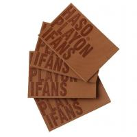Rubber leather patch Book printing