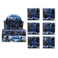 Plastic Toy Police commando 2016-26