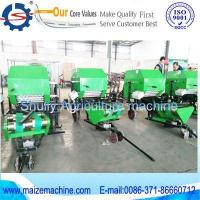pack machine+ corn silage round baler