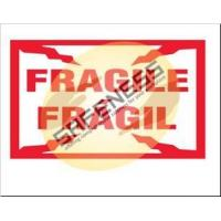 Buy cheap Bilingual Fragile Package Handling Label product