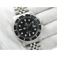 Buy cheap ALPHA SUBMARINER MATTE BLACK DIAL JUBILEE BRACELET AUTOMATIC MANS WATCH product