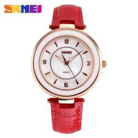 New product!!!Fashion Lady Japan Quartz Movt Waterproof leather watch