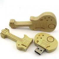 wholesale promotional wooden guitar usb with 100% full capacity 1GB 2GB 4GB 8GB 16GB