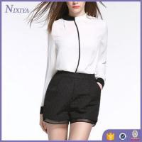 Buy cheap Ladies Long tops,Womens White Blouse,Formal Blouses For Women product