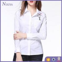 Buy cheap Long Sleeve women s shirts, Smocked Casual womens tops, Office Lady Wearl Blouse product